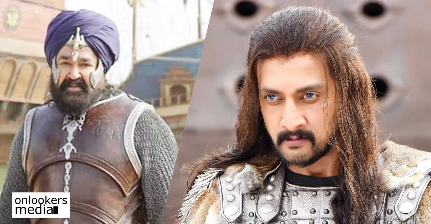 kichcha sudeep,marakkar arabikadalinte simham,kichcha sudeep in marakkar movie,marakkar movie cast,kichcha sudeep's updates,kichcha sudeep's malayalam movie,kichcha sudeep in kunjali marakkar,priyadarshan,mohanlal,kichcha sudeep mohanlal movie,kichcha sudeep priyadarshan movie