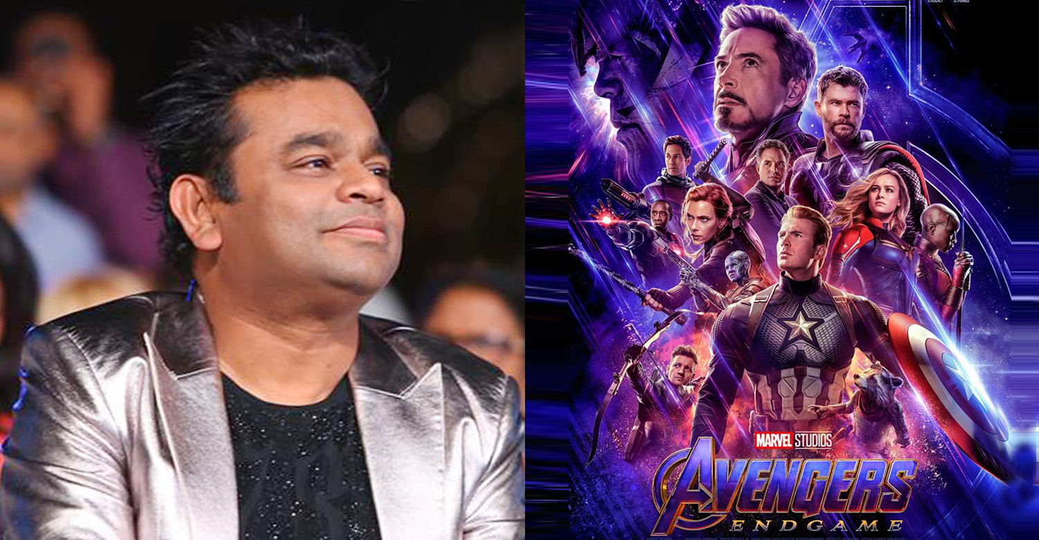 ar rahman,music director ar rahman,music director ar rahman,ar rahman's news,ar rahman's latest news,ar rahman avengers engame movie,avengers endgame anthem,avengers endgame anthem composer,avengers endgame anthem music director,ar rahman avengers endgame anthem,ar rahman avengers movie