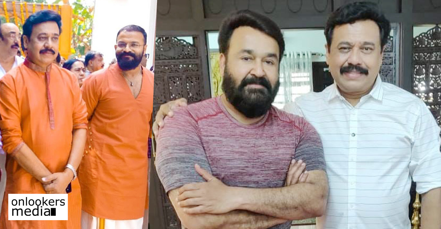 director vinayan,mohanlal,mohanlal's updates,mohanlal vinayan movie,mohanlal vinayan project,actor jayasurya,vinayan jayasurya new movie,director vinayan's upcoming movies,director vinayan's new movies,director vinayan with mohanlal still,director vinayan with jayasurya still