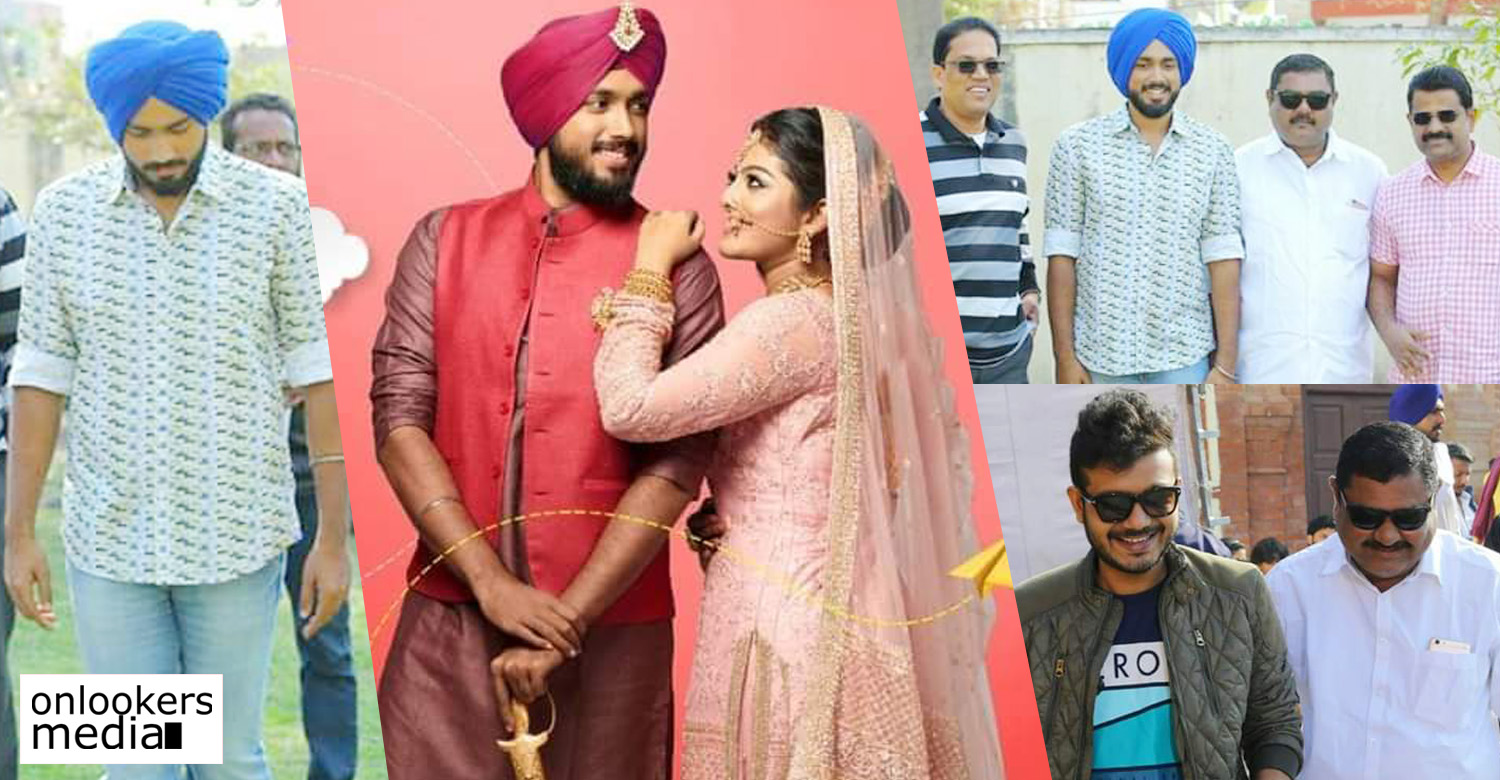 happy sardar,happy sardar location stills,location stills from kalidas jayaram's happy sardar,kalidas jayaram,kalidas jayaram in hapy sardar set,sreenath bhasi,sreenath bhasi in happy sardar location,happy sardar new location stills