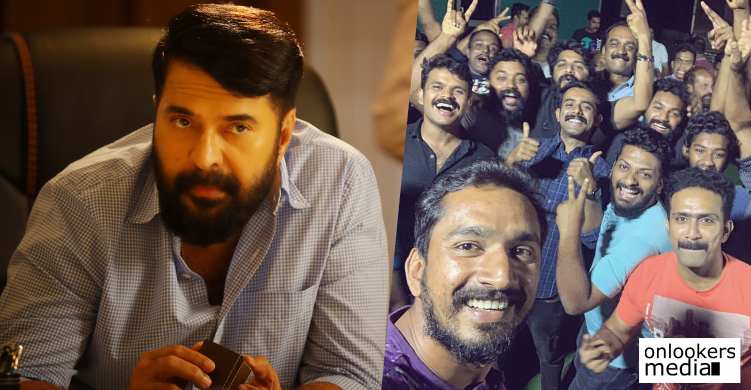 unda shoot wrapped up,mammootty,megastar mammootty,unda,unda the movie,unda film,unda shoot wrapped,mamootty's new movie,mammootty unda movie,unda movie news,unda movie updates,khalid rahman,mammootty khalid rahman movie,unda pack up,mammootty's movie updates