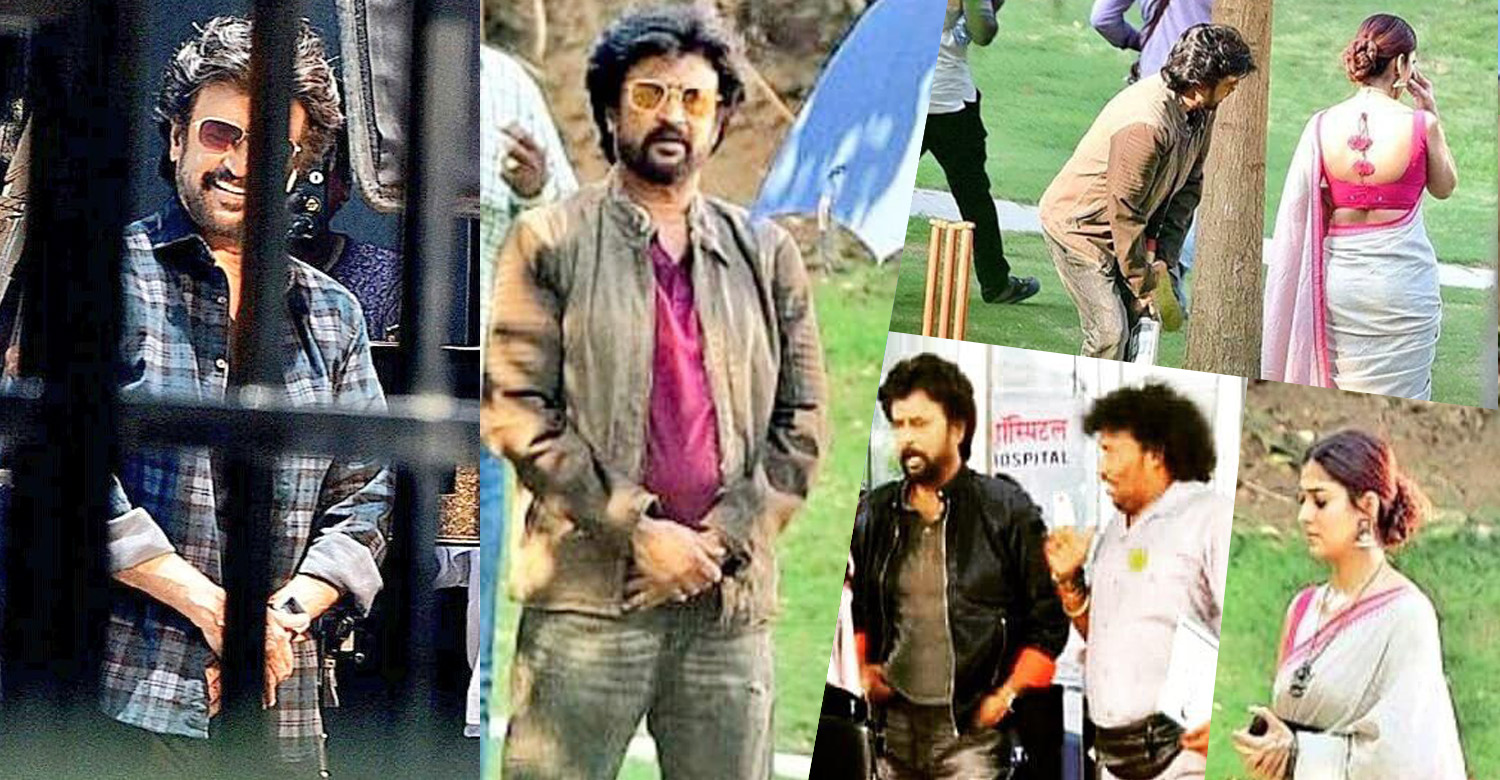 darbar location stills,new stills from darbar location,rajinikanth and nayanthara at darbar location,darbar rajinikanth's stills photos,nayanthara,nayanthara at darbar location,thalaivar at darbar location,darbar location pics,nayanthara in darbar,rajinikanth's new stills from darbar