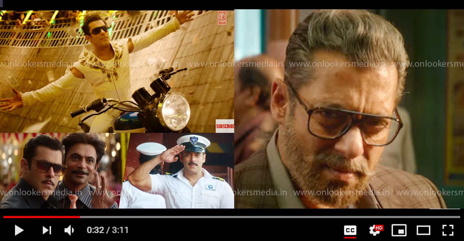Bharat,Bharat Official Trailer,Bharat Trailer,Salman Khan,salman khan's Bharat trailer,katrina kaif,Bharat hindi movie trailer