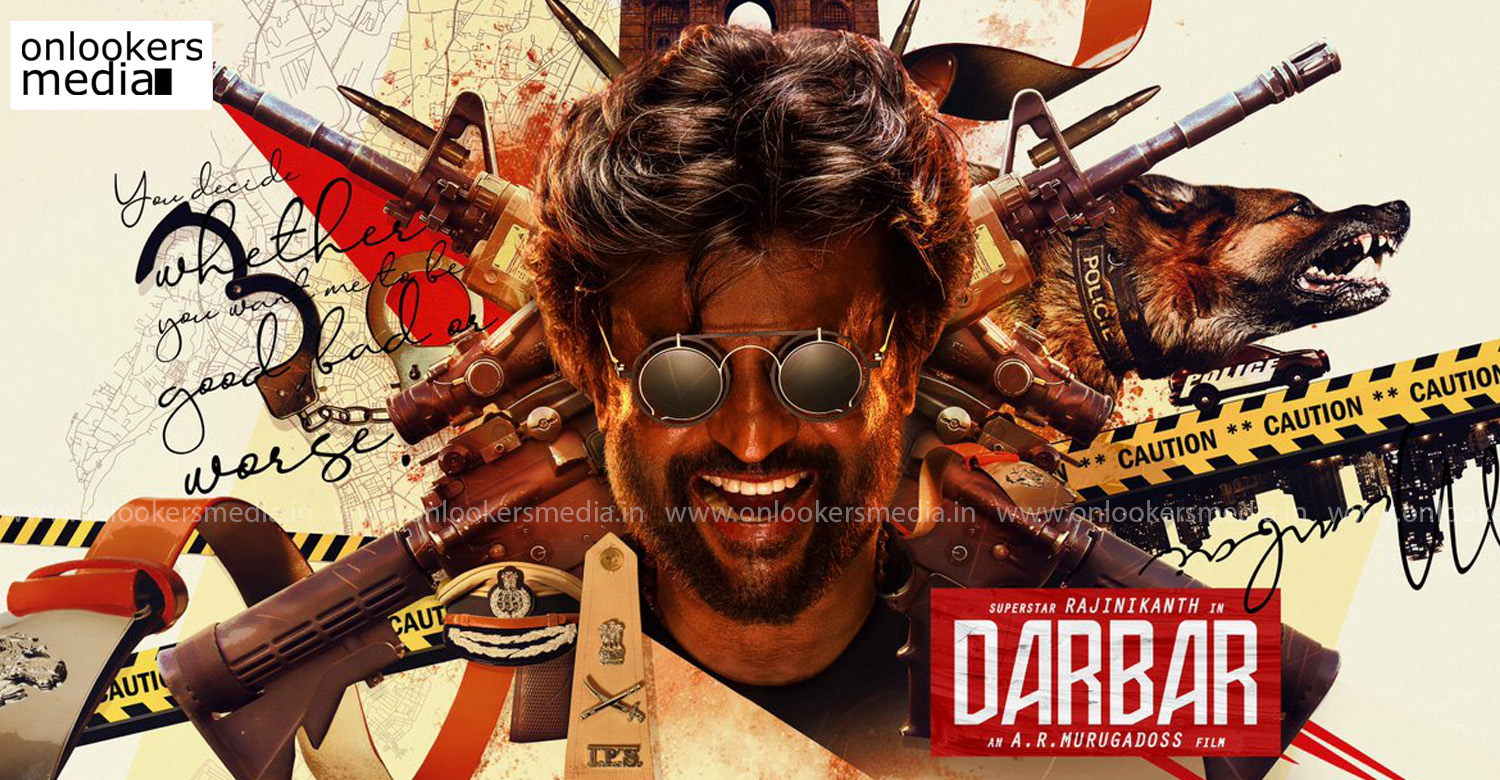 darbar,darbar first look poster,thalaivar 167,thalaivar 167 firs look,rajinikath,rajinikanth ar murugadoss movie,rajinikanth's darbar first look,ar murugadoss,nayanthara santosh sivan,Anirudh Ravichander,rajinikanth's new movie poster,rajinikanth's new movie