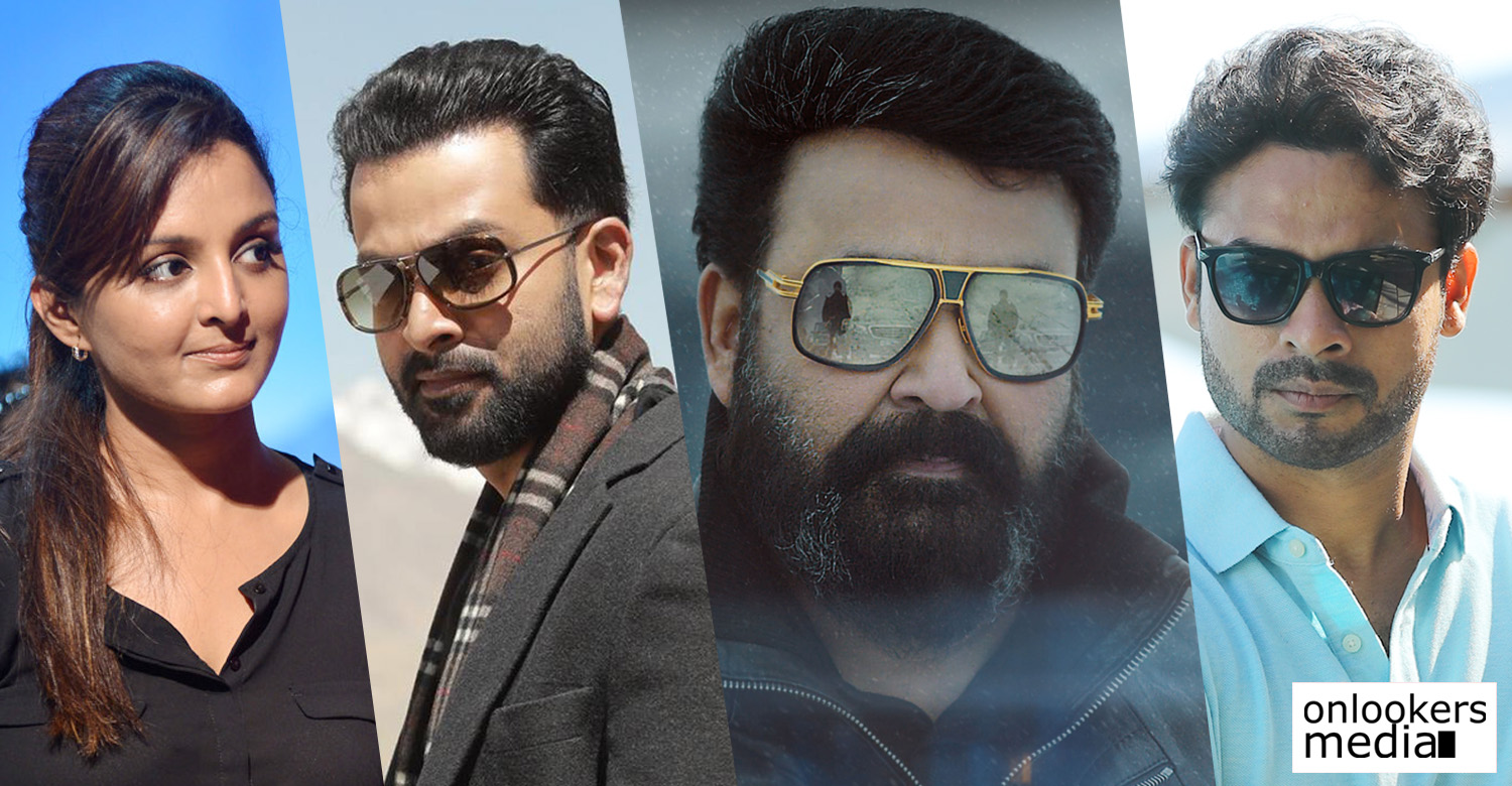 mohanlal,mohanlal's news,mohanlal's updates,Barroz,mohanlal's latest news,celebrities about mohanlal turing director,celebrities about about mohanlal's debut direction,prithviraj,tovino thomas,manju warrier,aju varghese,mohanlal's dbut direction,mohanlal prithviraj tovino thomas manju warrier stills photos images