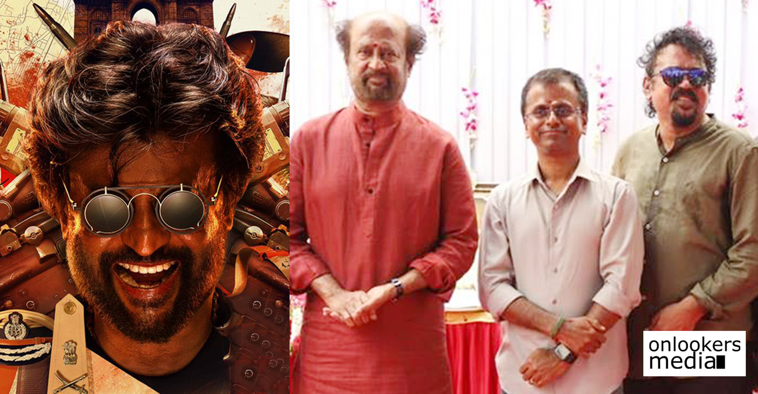 Darbar,Darbar tamil movie,Darbar movie updates,Darbar movie news,darbar starts rolling,Darbar movie latest news,rajinikanth's new film,ar murugadoss,santosh sivan,darbar shooting dates,rajinikanth ar murugadoss darbar movie,rajinikanth's news,rajinikanth's updates