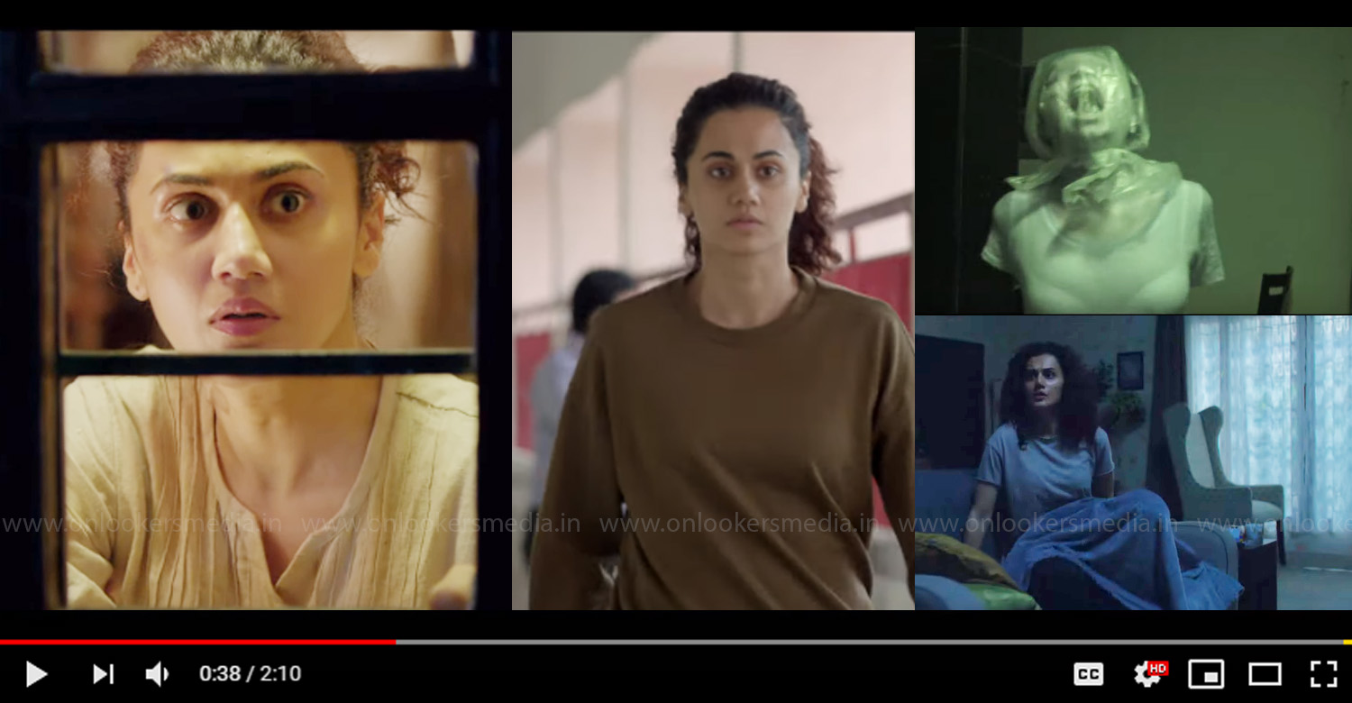 Game Over,Game Over official trailer,Game Over tamil official trailer,taapsee pannu,Ashwin Saravanan,Taapsee Pannu's new film,Taapsee Pannu game over trailer