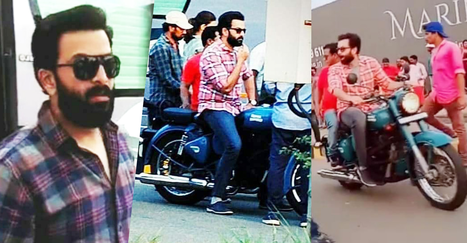 prithviraj sukumaran,prithviraj,brothers day,prithviraj at brothers day location,brothers day location stills,prithvirajs new look in brothers day,prithviraj in brothers day,brothers day prithviraj's latest location stills,Brother's Day new stills,Brother's Day prithviraj pics