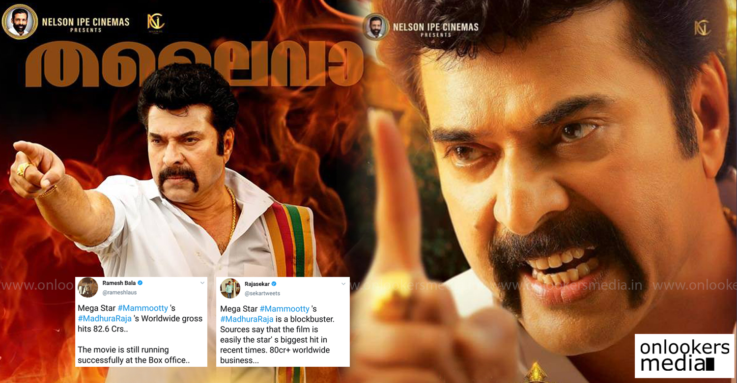 Madhura Raja,Madhura Raja latest collection,Madhura Raja world box office collection,mammootty' 50 crore club movies,madhura raja 50 crore club,mammootty's hit movie,mammootty's 50 crore movies,Madhura Raja latest world box office collection,Madhura Raja collection report,Madhura Raja kerala box office collection,megastar mammootty,mammootty's madhura raja latest collection