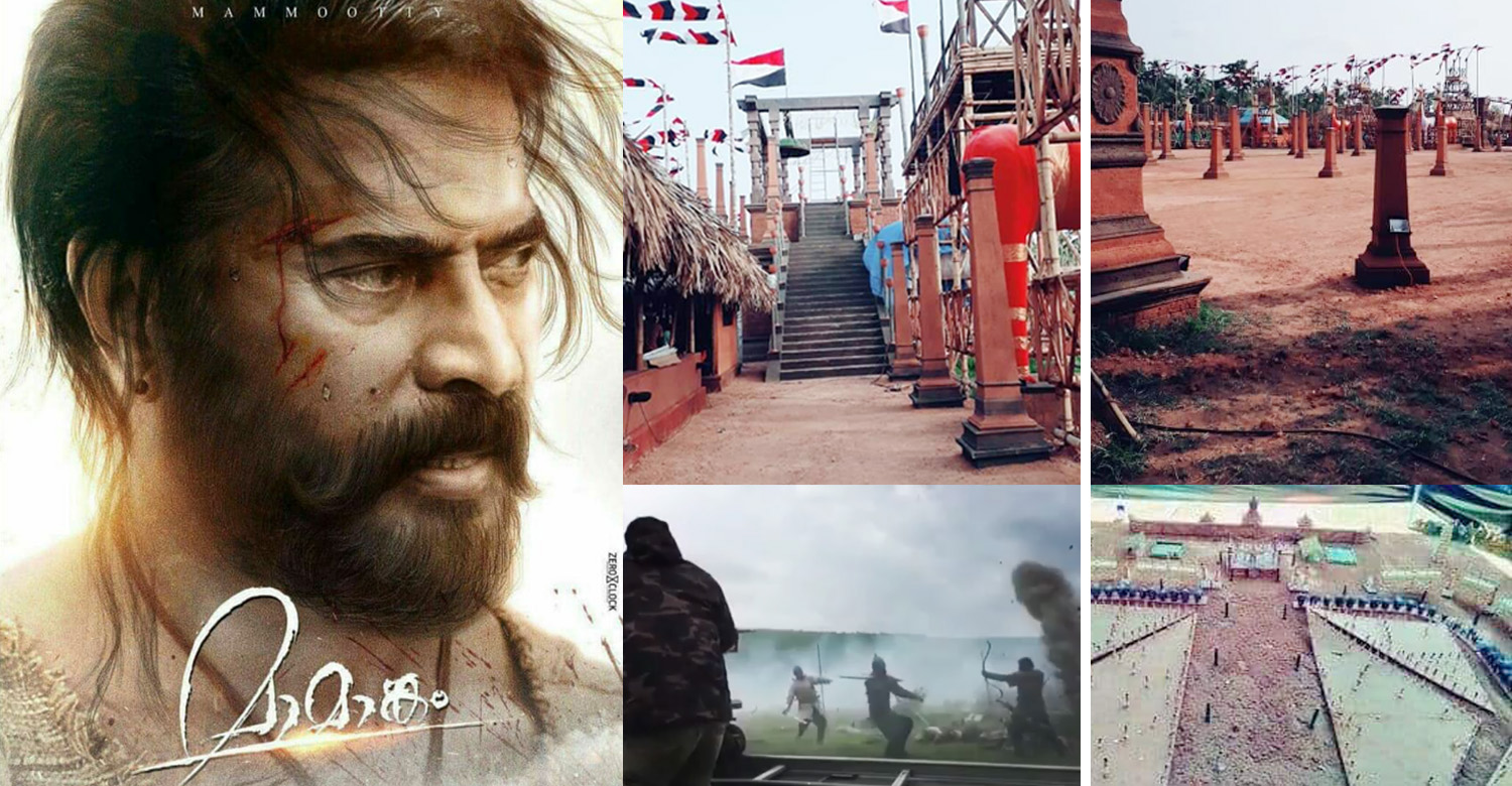 Maamaankam,Maamaankam Final Schedule,Maamaankam Set Pics,Maamaankam Updates,Maamaankam Latest News,Mammootty,Mammootty's Maamaankam Movie,Maamaankam Final Schedule Shoot