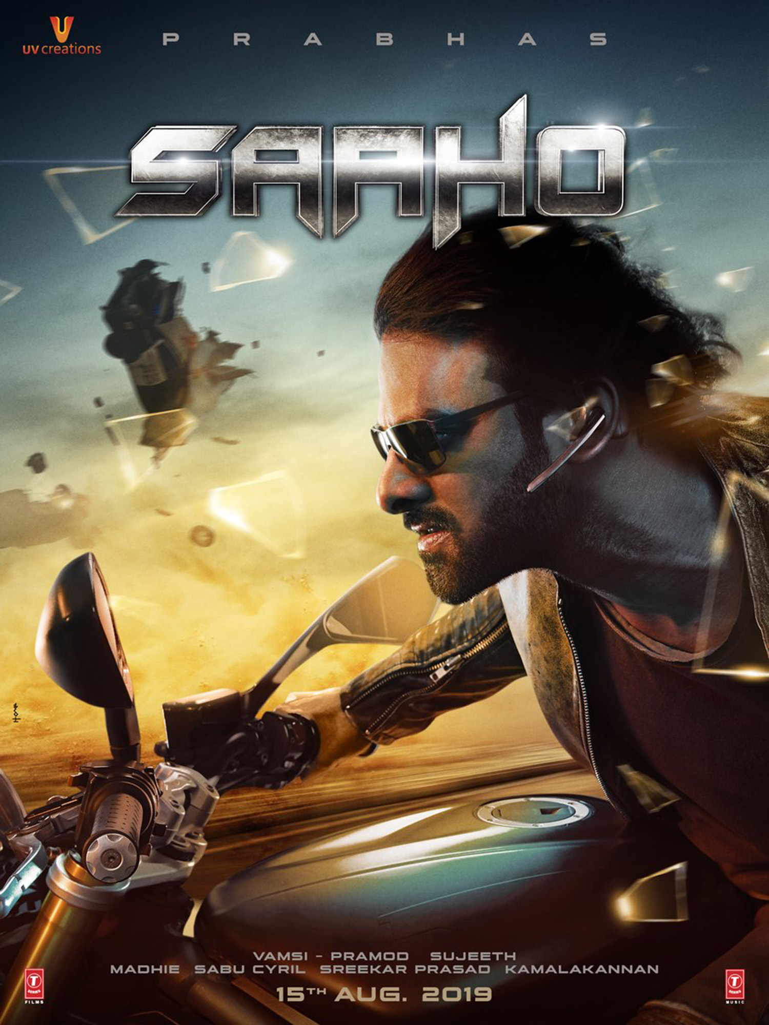 saaho,saaho action packed poster,new action packed poster of saaho,prabhas,Shradhha Kapoor,prabhas new film,prabhas new film stills,prabhas new movie images,prabhas saaho poster,prabhas saaho images,prabhas in sahoo,sahoo latest poster