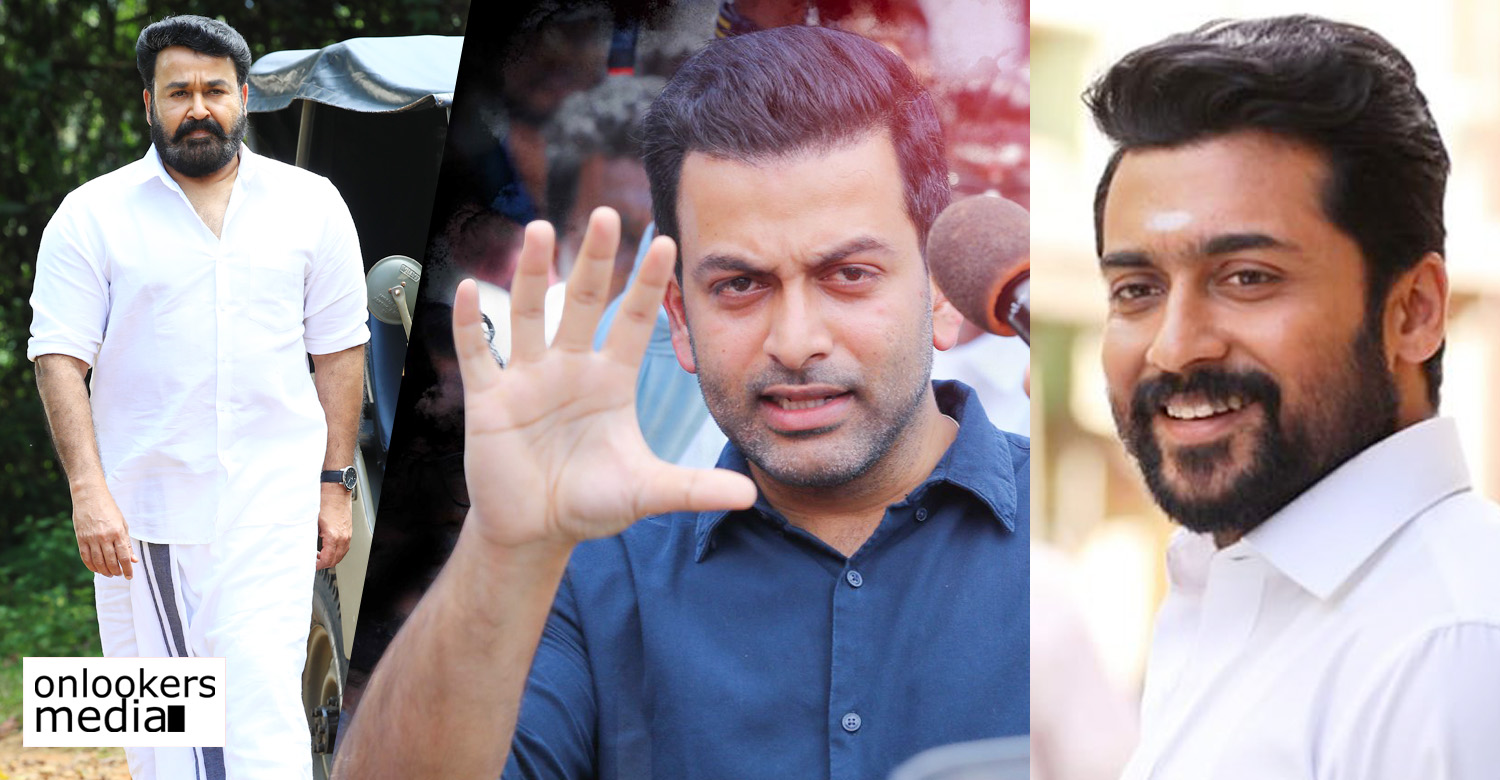 Lucifer,suriya,actor suriya,tamil actor suriya,actor suriya about prithviraj,suriya about mohanlal's lucifer,mohanlal's lucifer news,suriya about prithviraj,suriya about lucifer,suriya prithviraj latest news,lucifer malayalam movie latest news,actor prithviraj's latest news,actor prithviraj's updates,actor suriya updates