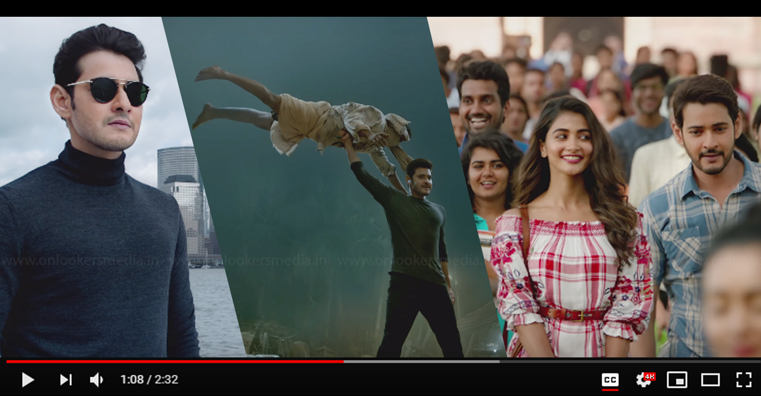 Maharshi Trailer,Maharshi Official Trailer,Maharshi Telugu Movie Trailer,Mahesh Babu,Mahesh Babu's Maharshi Trailer,Maharshi Mahesh Babu Pooja Hegde Movie,Pooja Hegde,Superstar Mahesh Babu