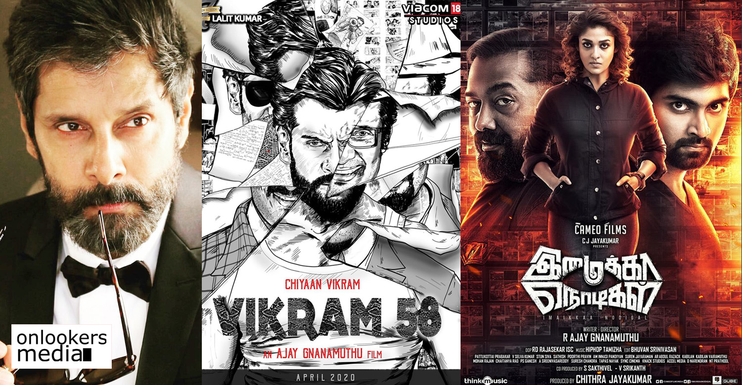 Vikram,chiyaan vikram,actor vikram,actor vikram's updates,actor vikram's latest news,chiyaan 58,chiyaan vikram 58,vikram 58,ajay gnanamuthu,vikram ajay gnanamuthu movie,imaikka nodigal director new movie,chiyaan vikram in imaikka nodigal director next film,chiyaan vikram's next film