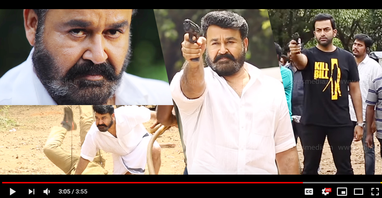 lucifer making video,lucifer new making video,lucifer behind the scene,lucifer stunt making video,mohanlal's lucifer making video,mohanlal,prithviraj,lucifer movie latest news,lucifer movie latest updates