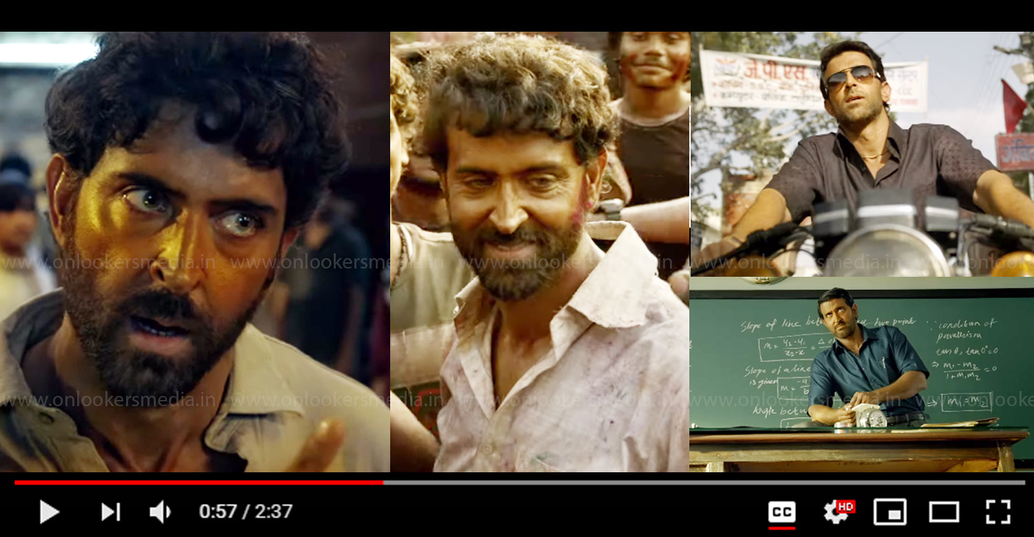 super 30 official trailer,super 30 trailer,Hrithik Roshan,Hrithik Roshan new movie,Hrithik Roshan new movie trailer