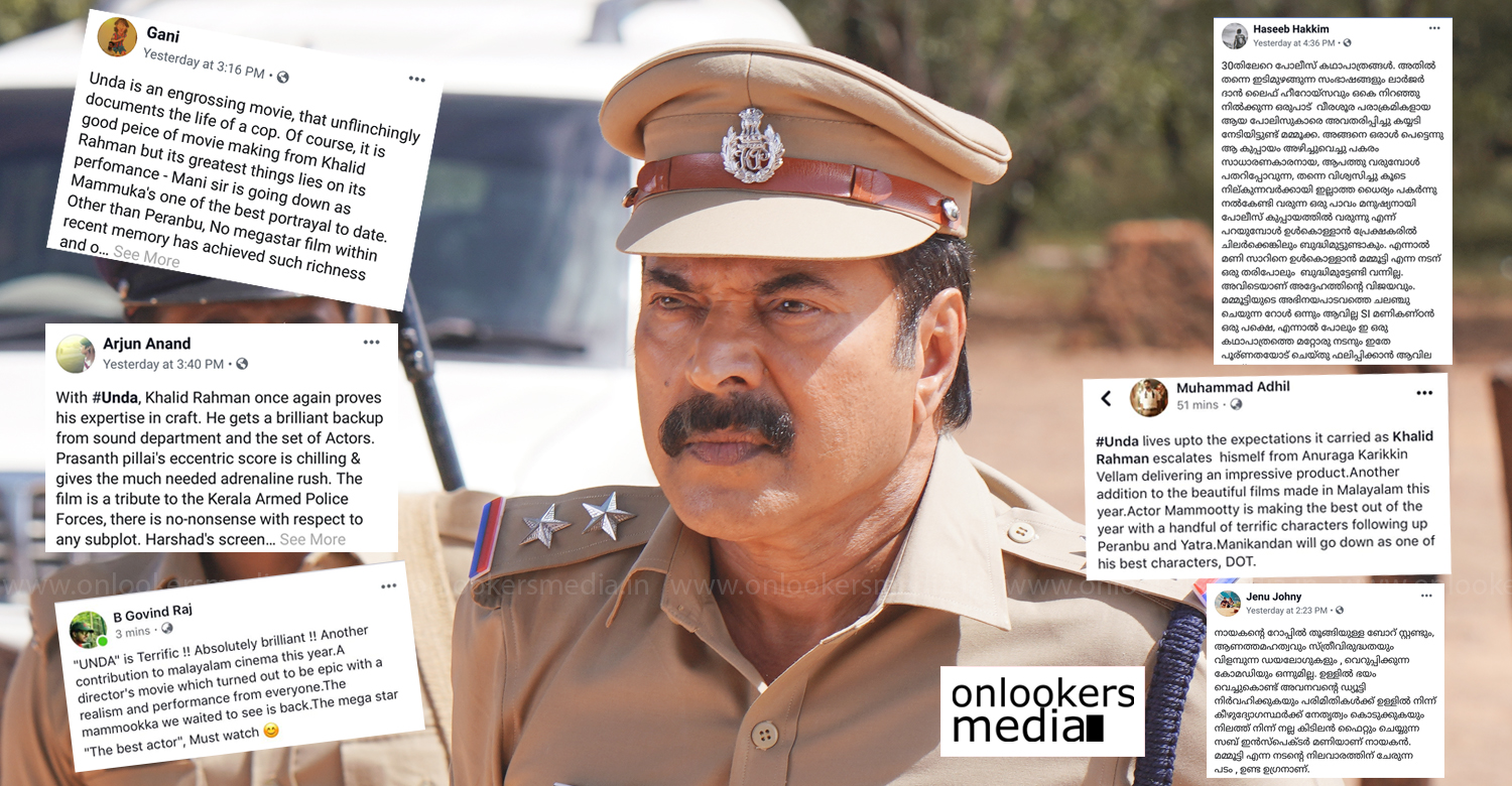 Unda,unda movie updates,unda film latest news,unda audience responses,unda film kerala box office report,unda movie audience reviews,mammootty,kalid rahman,mammootty's unda film news