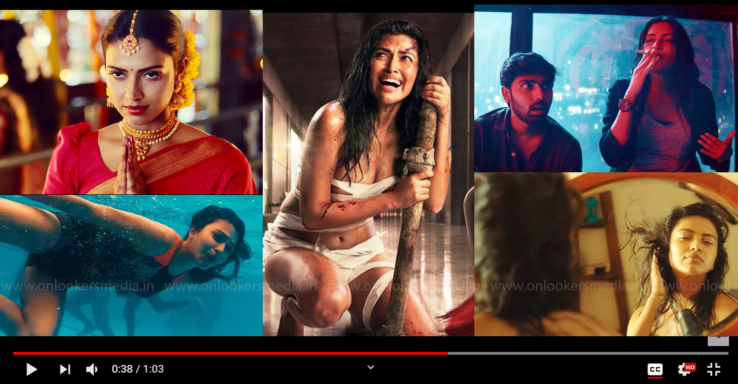 Aadai,Aadai trailer,Aadai official trailer,Aadai tamil movie trailer,amala paul,amala paul's Aadai trailer,amala paul's new tamil film,Aadai movie news,Aadai movie latest updates