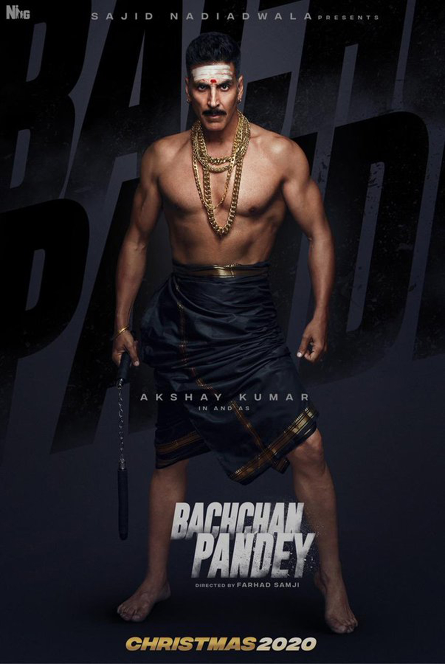 Bachchan Pandey,Bachchan Pandey Akshay Kumar,akshay kumar new film,Bachchan Pandey first look poster,akshay kumar Bachchan Pandey upcoming film,Bachchan Pandey upcoming film,akshay kumar's upcoming film,akshay kumar new movie