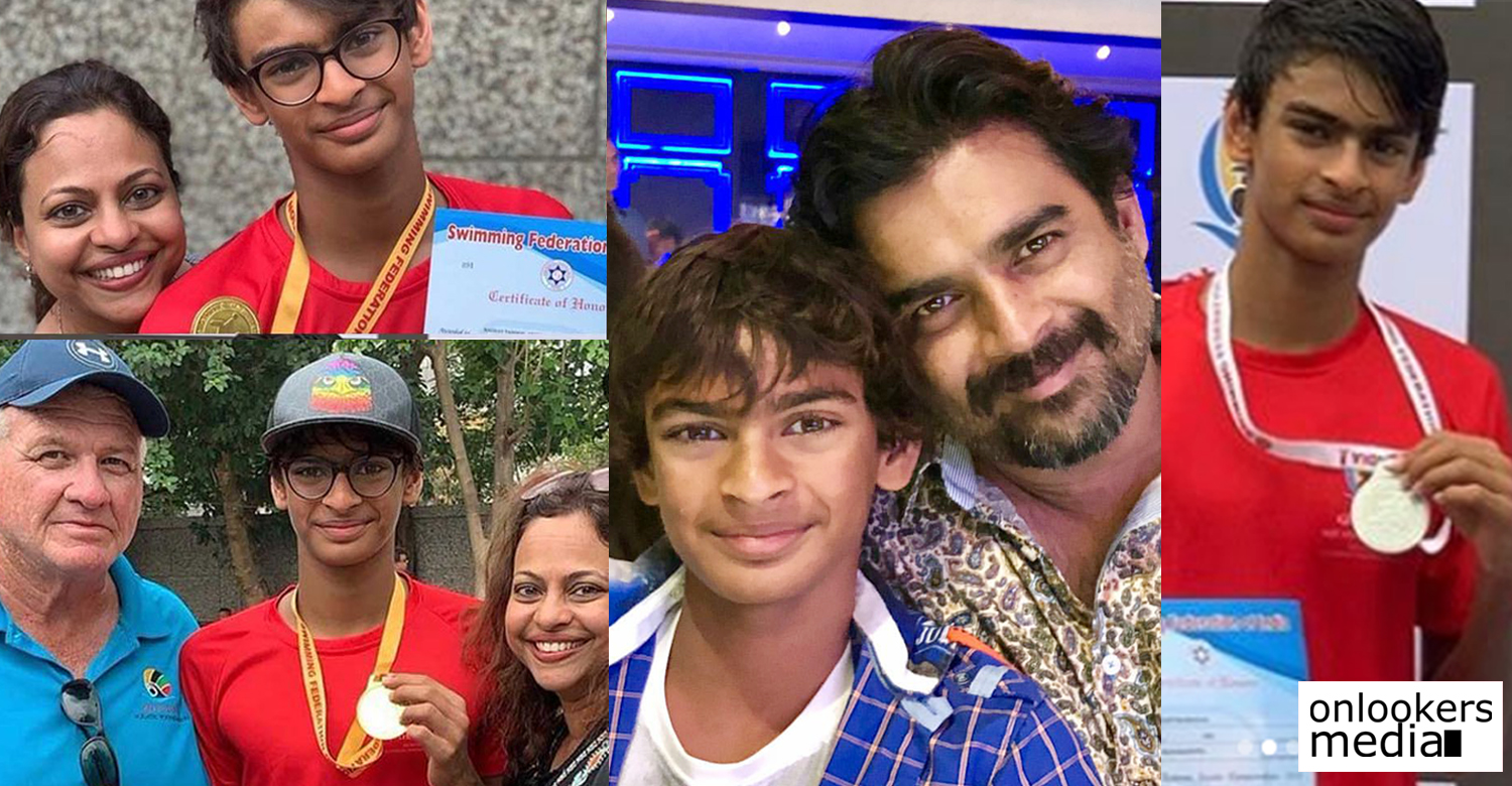 Actor Madhavan's son Vedaant,actor madhavan,maddy,Actor Madhavan's son Vedaant latest newsVedaant Madhavan,Vedaant Madhavan junior national swim meet,,actor madhavan's latest news,Junior Nationals Swim meet,actor madhavan's son wins Junior Nationals Swim meet