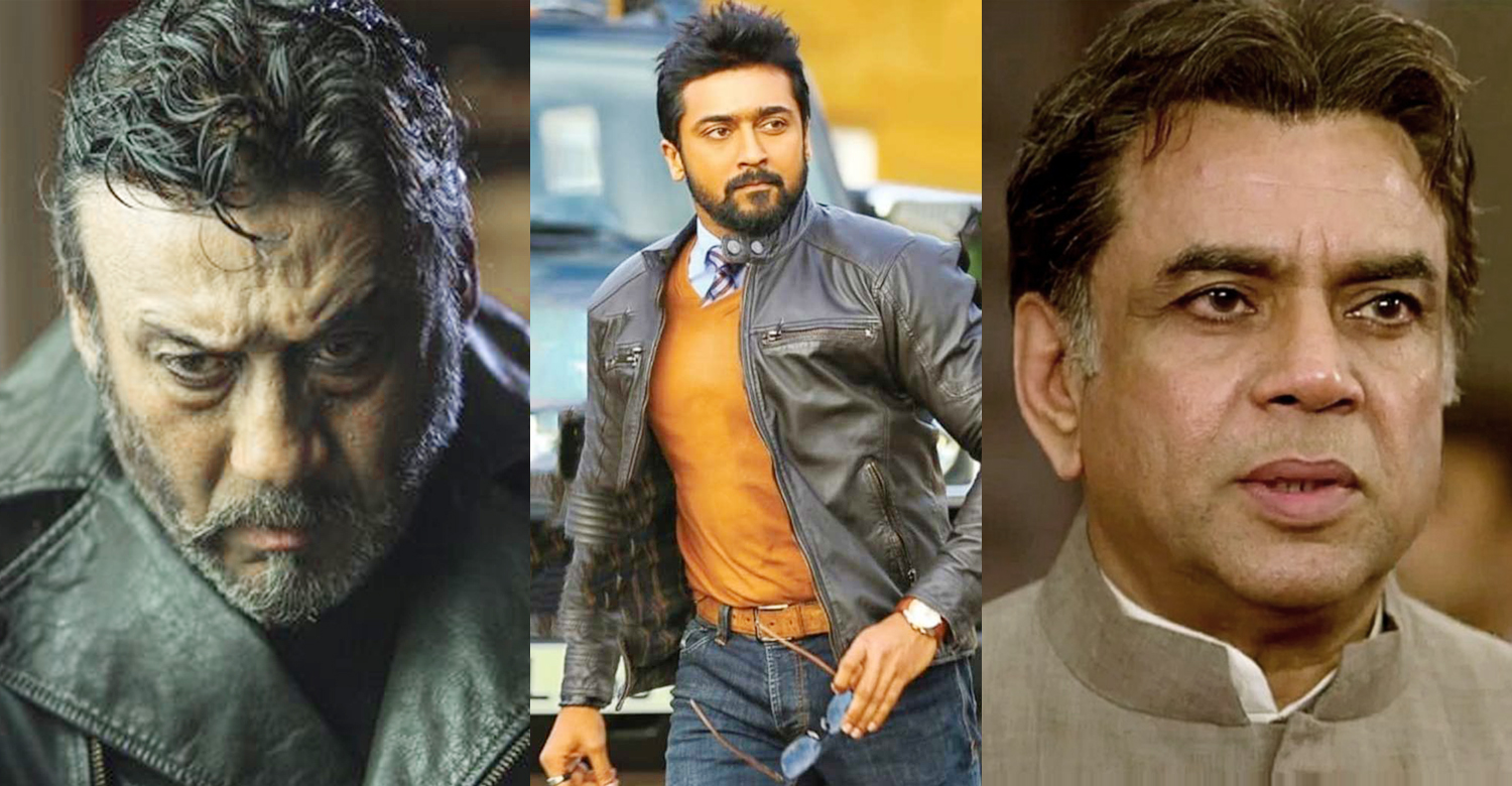 Paresh Rawal and Jackie Shroff to play prominent roles in Suriya's next