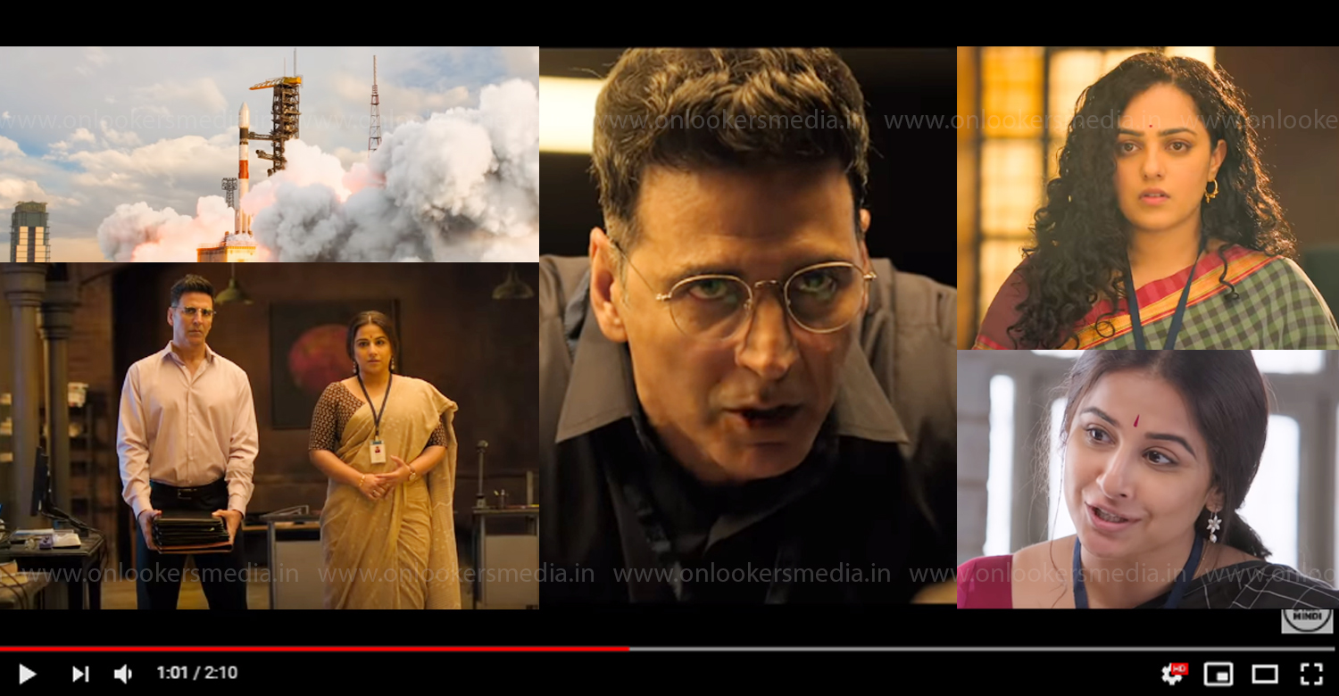 Mission Mangal new trailer,Mission Mangal new official trailer,Akshay Kumar, Vidya Balan, Nithya Menen, Tapsee Pannu, Sonakshi Sinha, Sharman Joshi,Mission Mangal latest trailer,Mission Mangal film updates