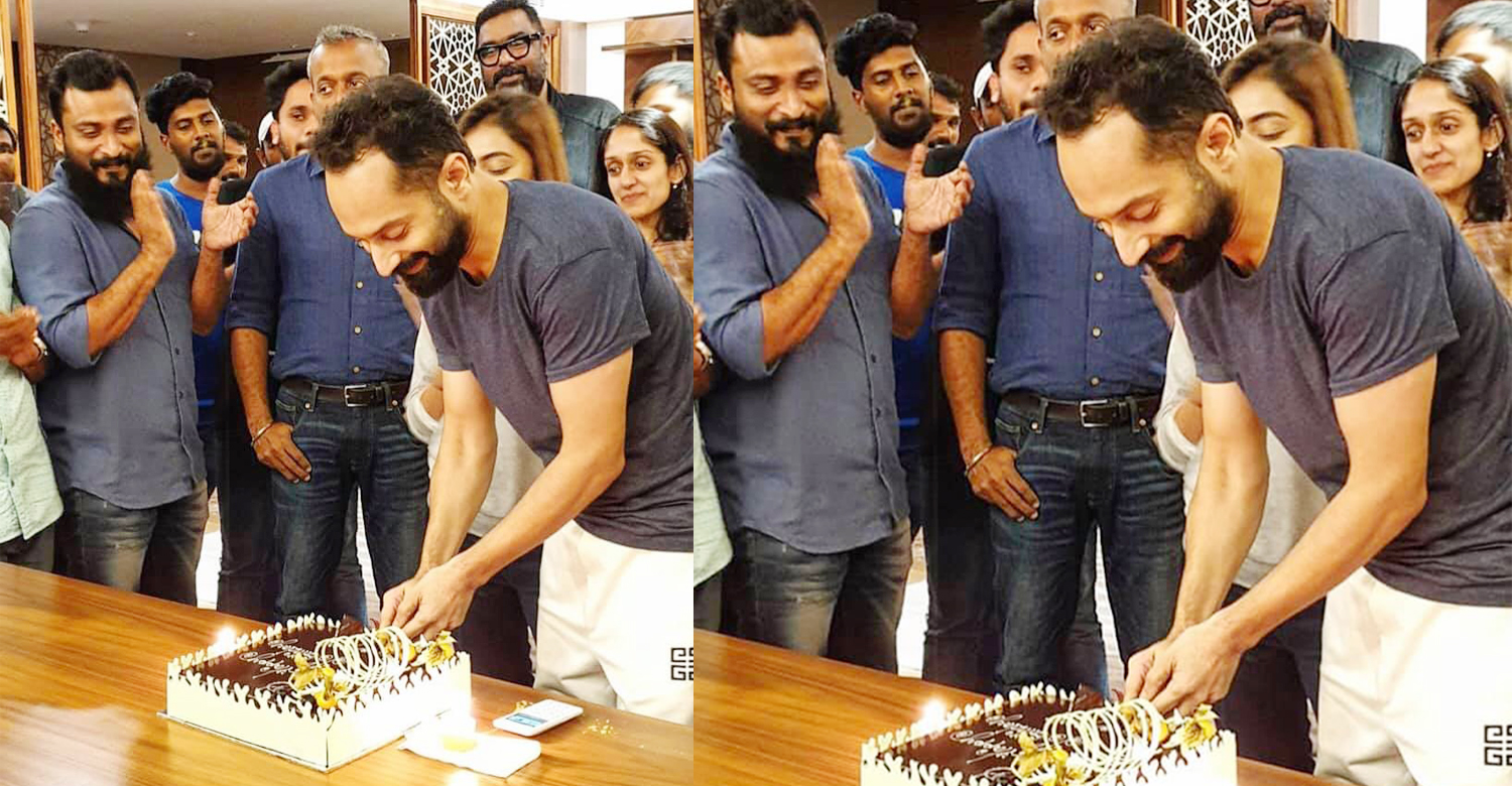 fahadh faasil,fahadh faasil birthday,hbd fahadh faasil,Fahadh celebrates his birthday with Trance location,fahadh faasil birthday celebration trance location,trance