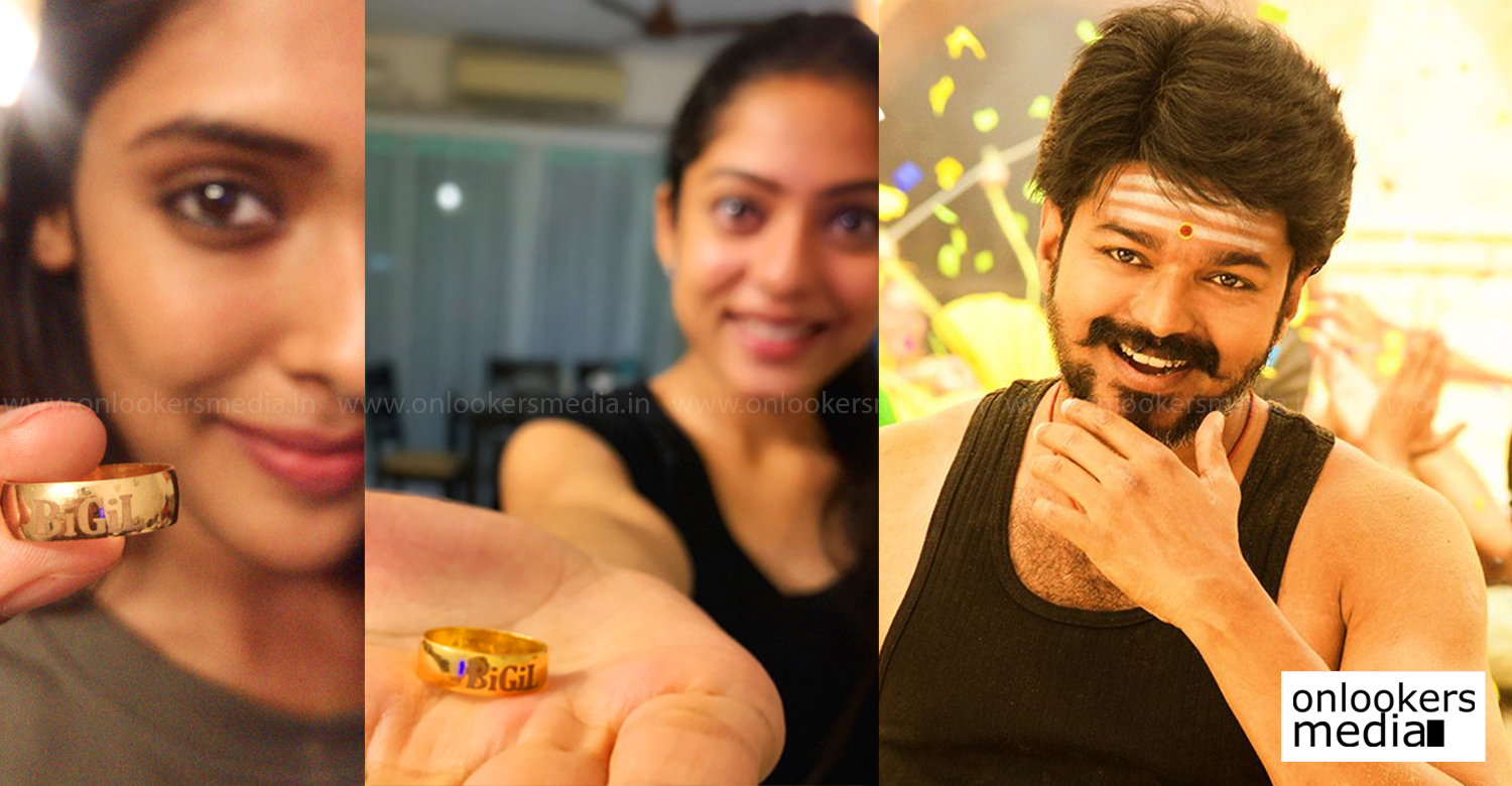 bigil,actor vijay,thalapathy vijay,thalapathy vijay's latest news,actor vijay bigil,thalapathy vijay bigil ring,bigil film updates,thalapathy vijay bigil film latest news,actor vijay's news,atlee vijay bigil updates