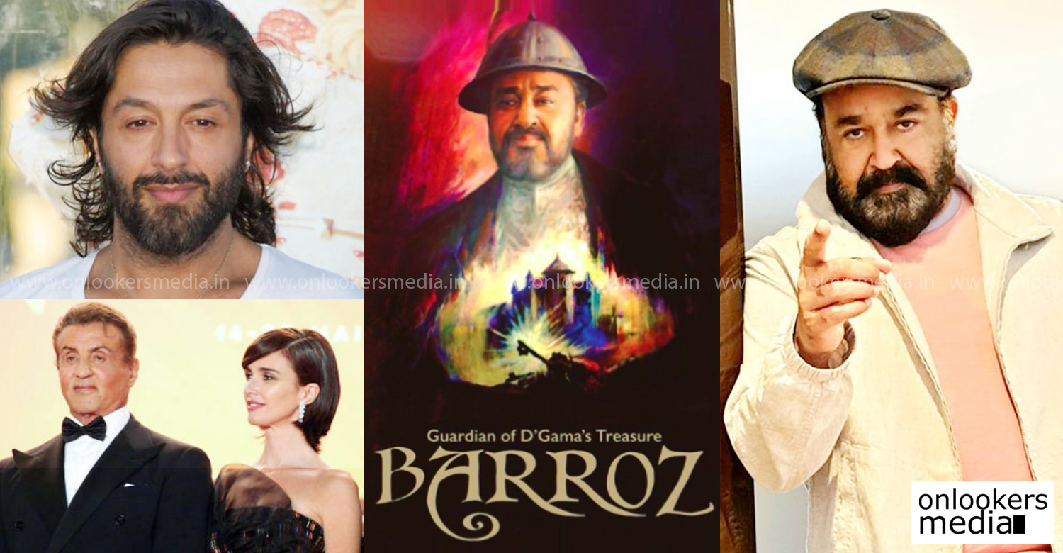 Barroz,Barroz Film latest updates,Barroz film news,mohanlal Barroz,mohanlal Barroz latest news,Rafael Amargo,Paz Vega,Jijo Punnoose,barroz shooting dates