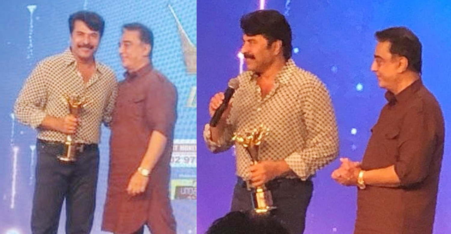 mammootty,peranbu,director ram,kamal haasan,News 18 Magudam Awards 2019,News 18 Tamil Nadu Magudam Awards 2019,News 18 Tamil Nadu Magudam Awards 2019 best actor,mammootty's latest news,megastar mammootty,latest tamil film news,latest malayalam film news,latest south indian film news,Magudam Awards 2019,ulaka nayakan