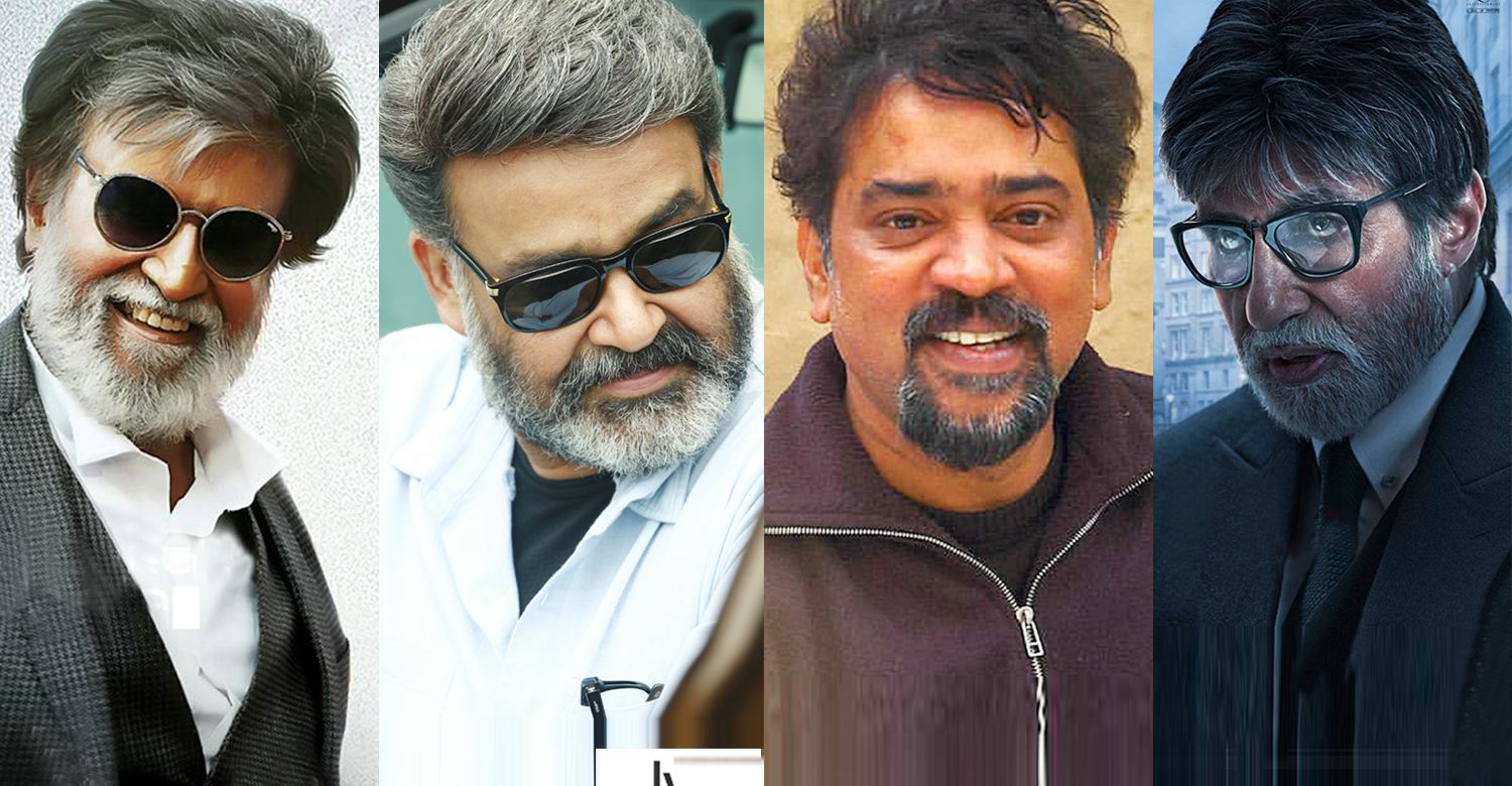 Santosh Sivan,Santosh Sivan about favorite actors,Santosh Sivan about special actors he has worked with,cinematographer Santosh Sivan,Santosh Sivan's latest news,mohanlal,rajinikanth, Ambitabh Bachchan
