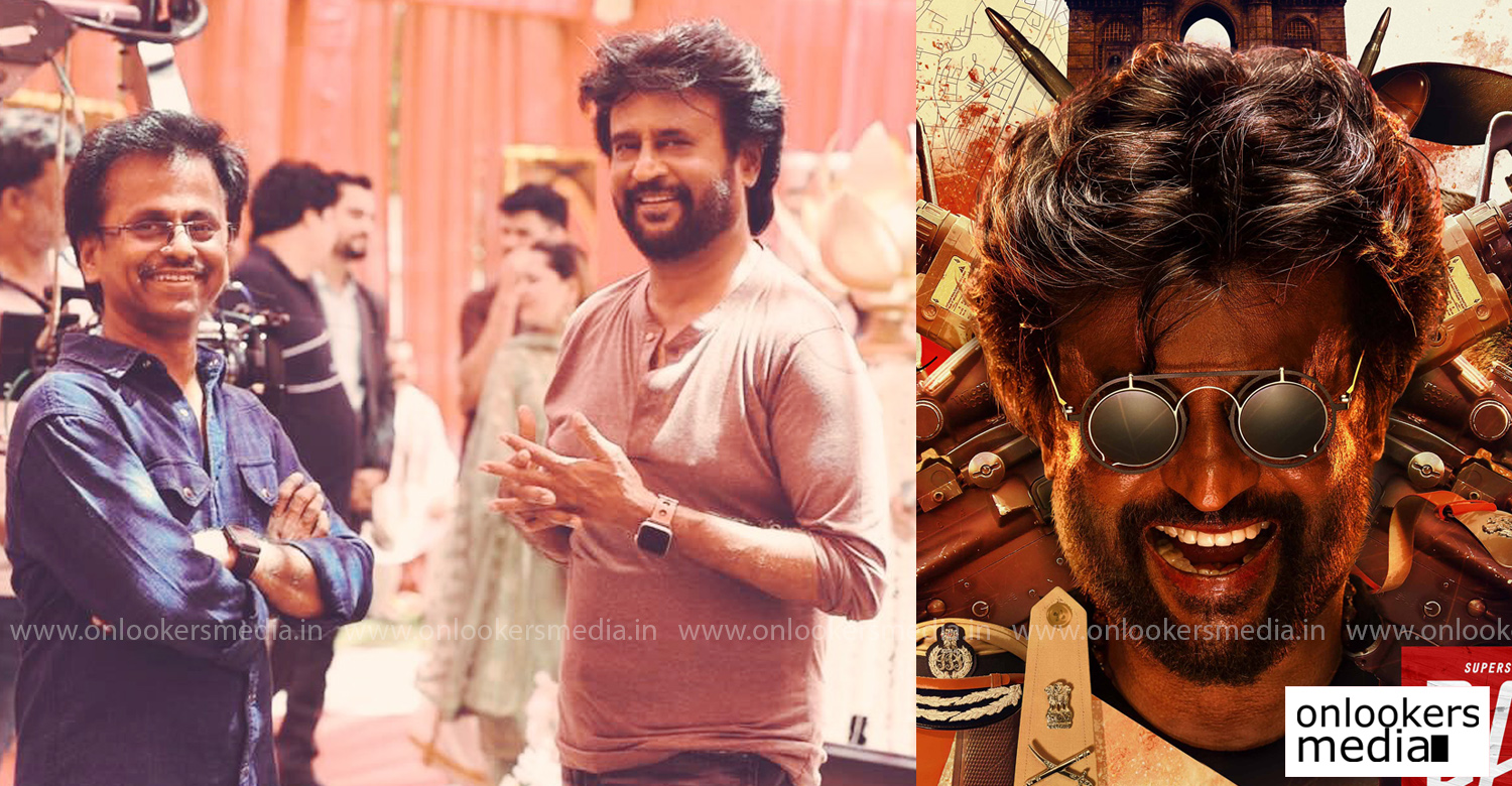 Darbar,superstar rajinikanth,rajinikanth,thalaivar,ar murugadoss,darbar shoot wrapped,rajinikanth's latest news,rajinikanth's movie news,Darbar updates,ar murugadoss film news,rajinikanth's upcoming film,rajinikanth new look in darbar