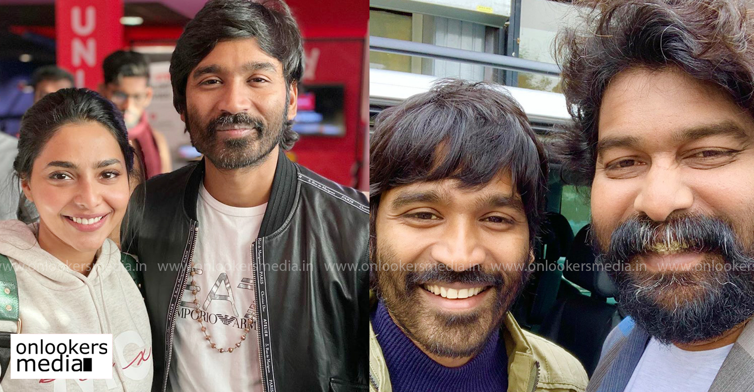 dhanush,director karthik subbaraj,aishwarya lekshmi,joju george,dhanush karthik subbaraj film,dhanush upcoming film,dhanush new film,aishwarya lekshmi dhanush film,dhanush karthik subbaraj film shoot wrapped up,latest dhanush film news,karthik subbaraj dhanush film latest reports