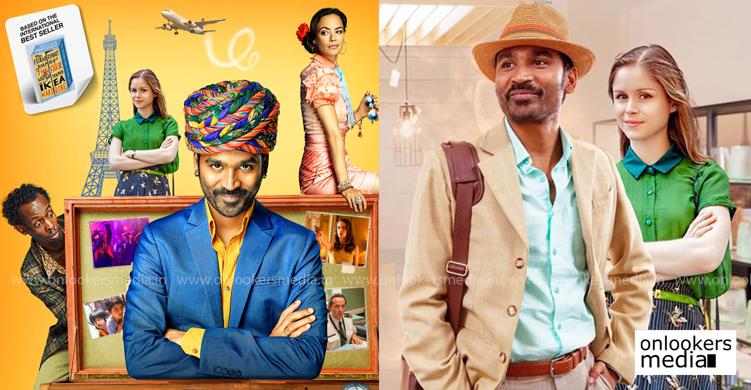 The Extraordinary Journey of the Fakir,tamil actor dhanush,dhanush maiden english film,dhanush The Extraordinary Journey of the Fakir,dhanush english film,The Extraordinary Journey of the Fakir china release,dhanush latest news,The Extraordinary Journey of the Fakir poster,dhanush english film china release