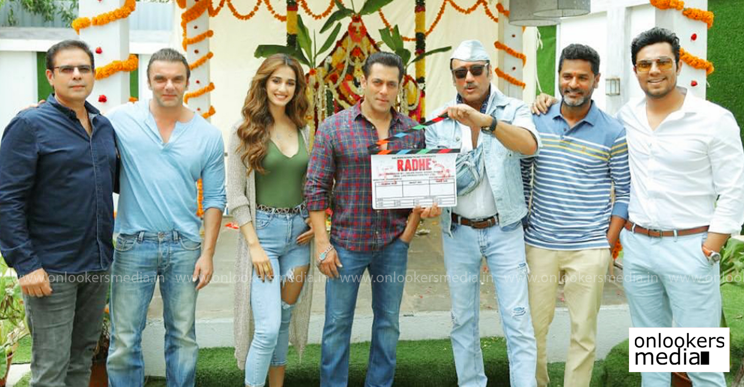 radhe,salman khan,prabhu deva,Disha Patani,Jackie Shroff,Randeep Hooda,salmaan khan new film,slaman khan's wanted second part,wanted second part,latest bollywood film news,latest hindi film news,upcoming salman khan film,actor salman khan's new film