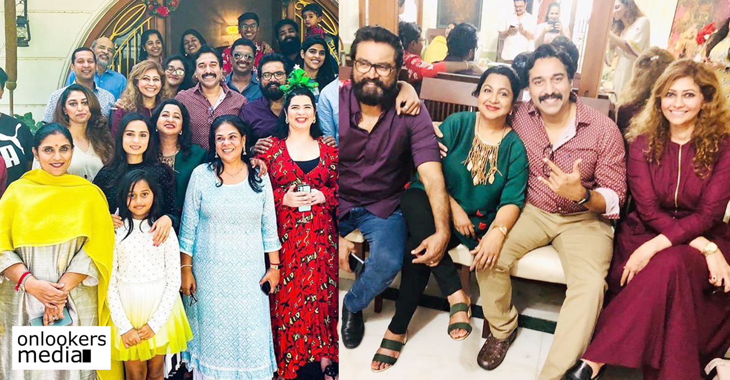 actor rahman,actor sarath kumar,actress radhika sarath kumar,actor rahman's latest news,actor rahman's family with sarath kumar and radhika sarath kumar,actor rahman sarath kumar radhika sarath kumar christmas celebration