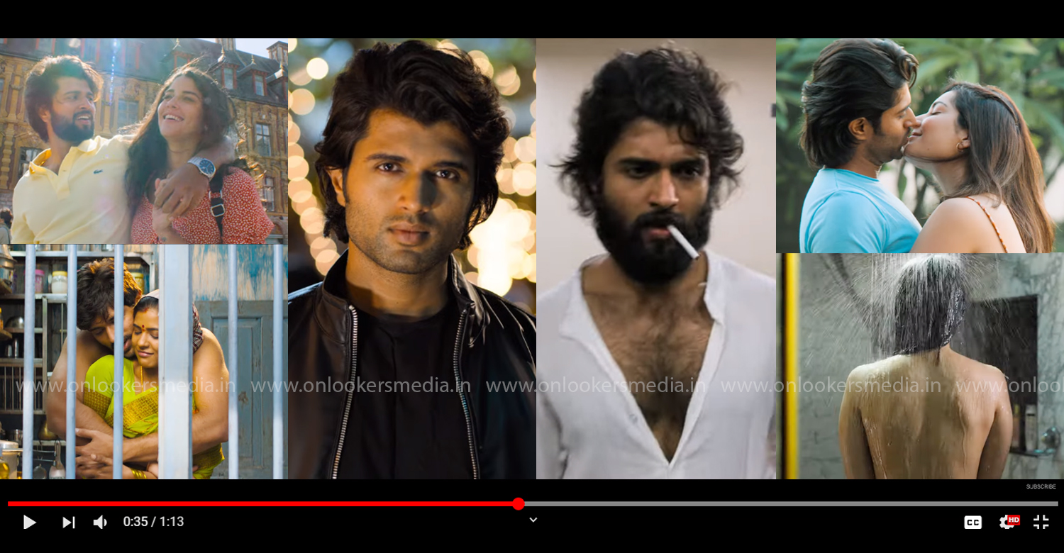 World Famous Lover teaser,World Famous Lover,vijay deverakonda,World Famous Lover telugu movie,World Famous Lover telugu movie teaser,new telugu film,tollywood film news,Raashi Khanna, Catherine Tresa, Izabelle Leite,Aishwarya Rajessh