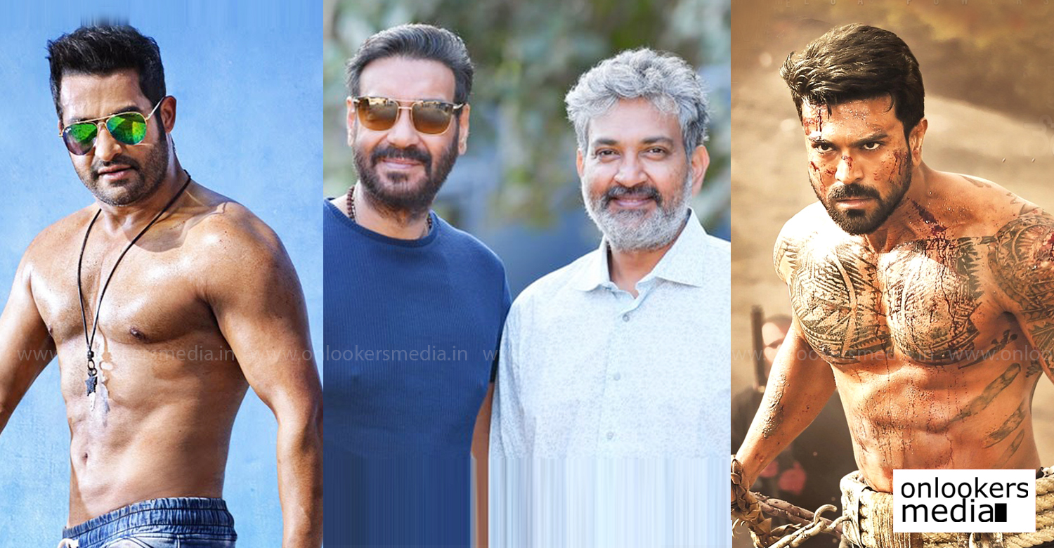 Ajay Devgn,ss rajamouli,ram charan,jr ntr,actor Ajay Devgn joins rajamouli new film,actor Ajay Devgn latest news,rrr movie updates,tollywood cinema,new telugu film,latest south indian film news