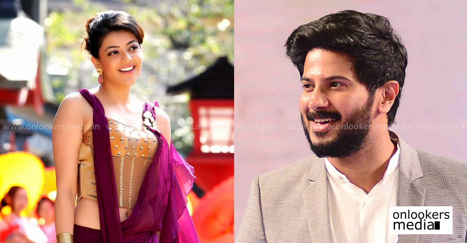 dulquer salmaan,actress kajal aggarwal,dulquer salmaan's latest news,actress kajal aggarwal's latest news,dulquer salmaan kajal aggarwal new movie,latest south indian film news,kollywood film,tamil cinema,dulquer salmaan next tamil cinema