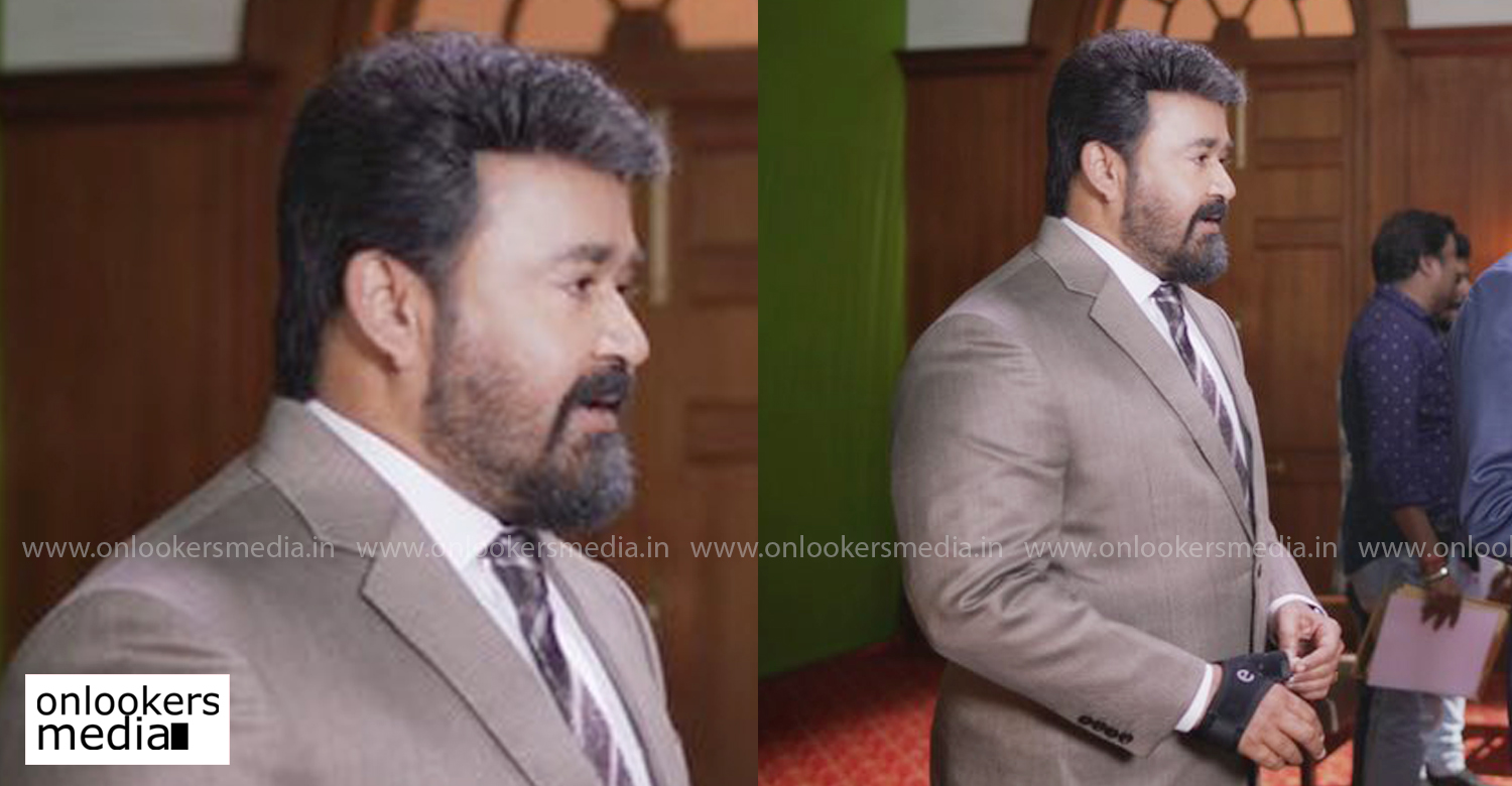 mohanlal,jeethu joseph,mohanlal in ram,mohanlal's new film ram,mohanlal's latest look in ram,mohanlal's new look images,mohanlal stylish new salt and pepper look,mohanlal's stylish new images
