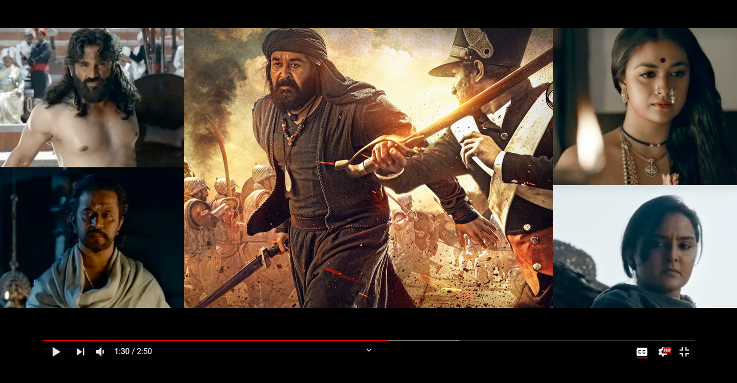Marakkar teaser,marakkar arabikadalinte simham,mohanlal,priyadarshan,mohanlal new film,marakkar arabikadalinte simham teaser,mohanlal latest news,marakkar movie latest updates,latest malayalam film news,latest south indian film news