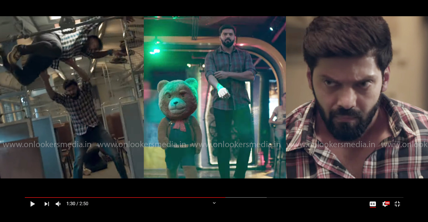 teddy official teaser,teddy arya new film,teddy tamil movie,teddy movie,tamil actor arya new film,actor arya latest news,arya sayyeshaa new film,latest tamil film news,latest kollywood film news,2020 new tamil cinema