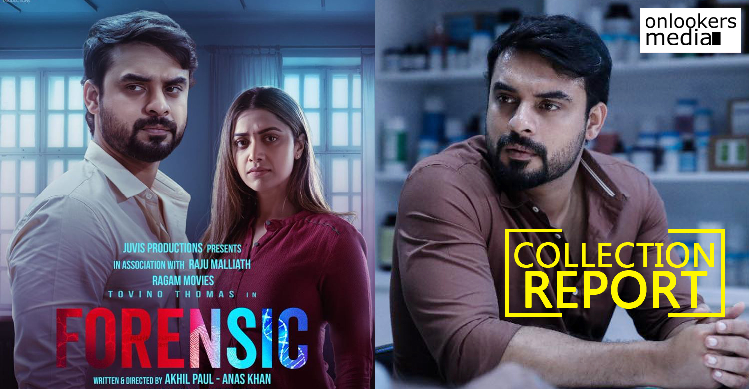 forensic malayalam movie worldwide collection,tovino thomas,forensic malayalam movie latest collection report,tovino thomas highest grosser film,tovino thomas latest hit film,tovino thomas latest release,tovino thomas career best film,tovino thomas highest grosser malayalam film