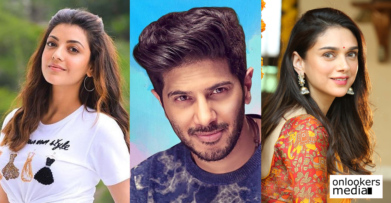 dulquer salmaan,dulquer salmaan latest news,dulquer salmaan new film news,dulquer salmaan new tamil film,actress kajal aggarwal,actress aditi rao hydari,dance choreographer brinda master movie,dulquer salmaan brinda master movie latest reports,dulquer salmaan brinda master movie actress,latest tamil film news,kollywood cinema news,latest south indian film news