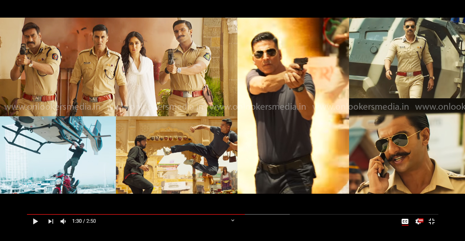 Sooryavanshi trailer,Sooryavanshi,akshay kumar,akshay kumar action movie,bollywood new action movie,Ranveer Singh,Ajay Devgn,Rohit Shetty,Katrina Kaif,latest bollywood film news,new hindi film,akshay kumar new film