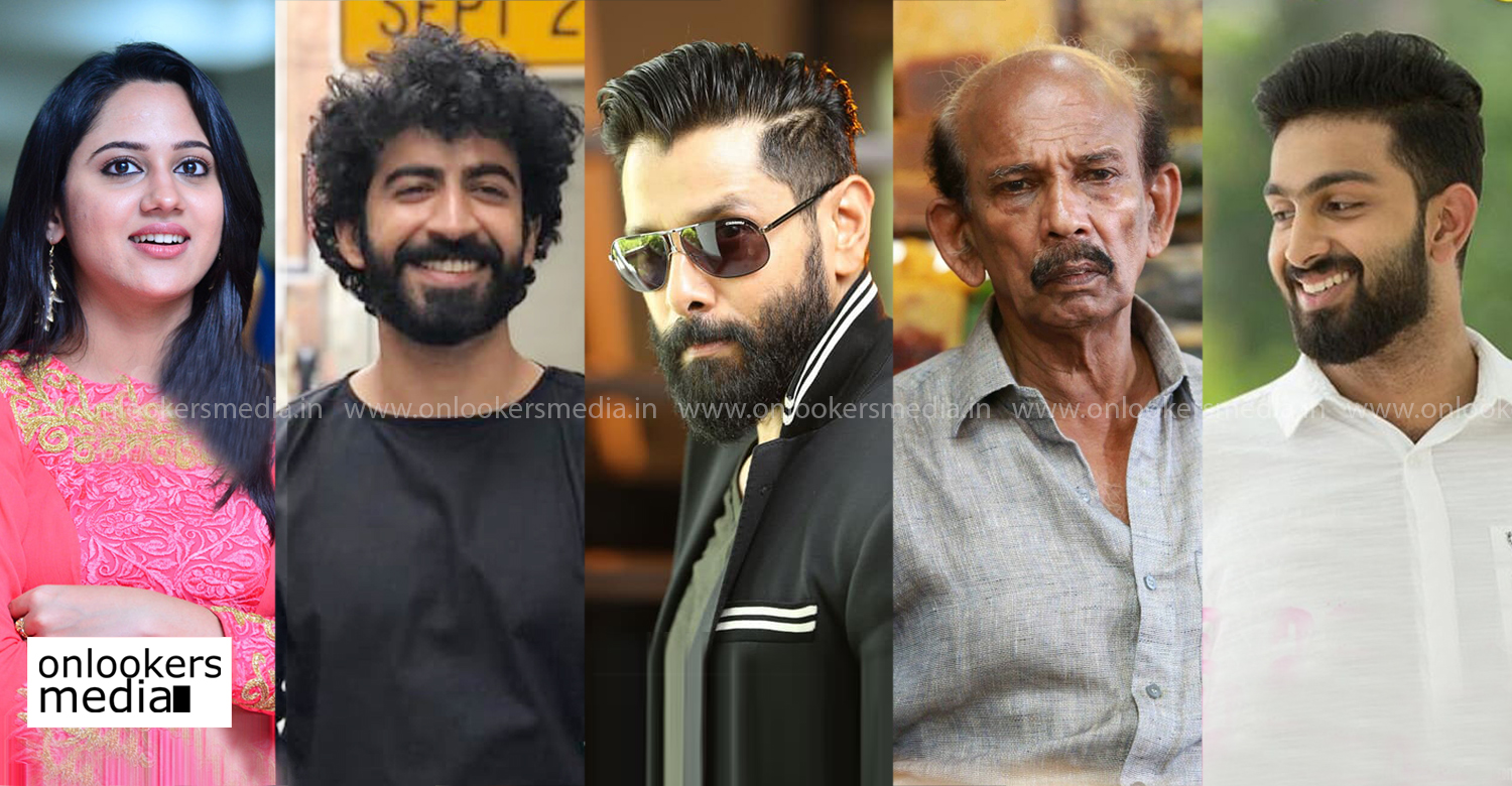 chiyaan vikram,cobra,malayali actors cobra movie,chiyaan vikram film news,actor vikram film news,cobra tamil film news,Miya George, Mammukoya, Roshan Mathew,Sarjano Khalid,tamil cinema,malayalam news,south indian film news