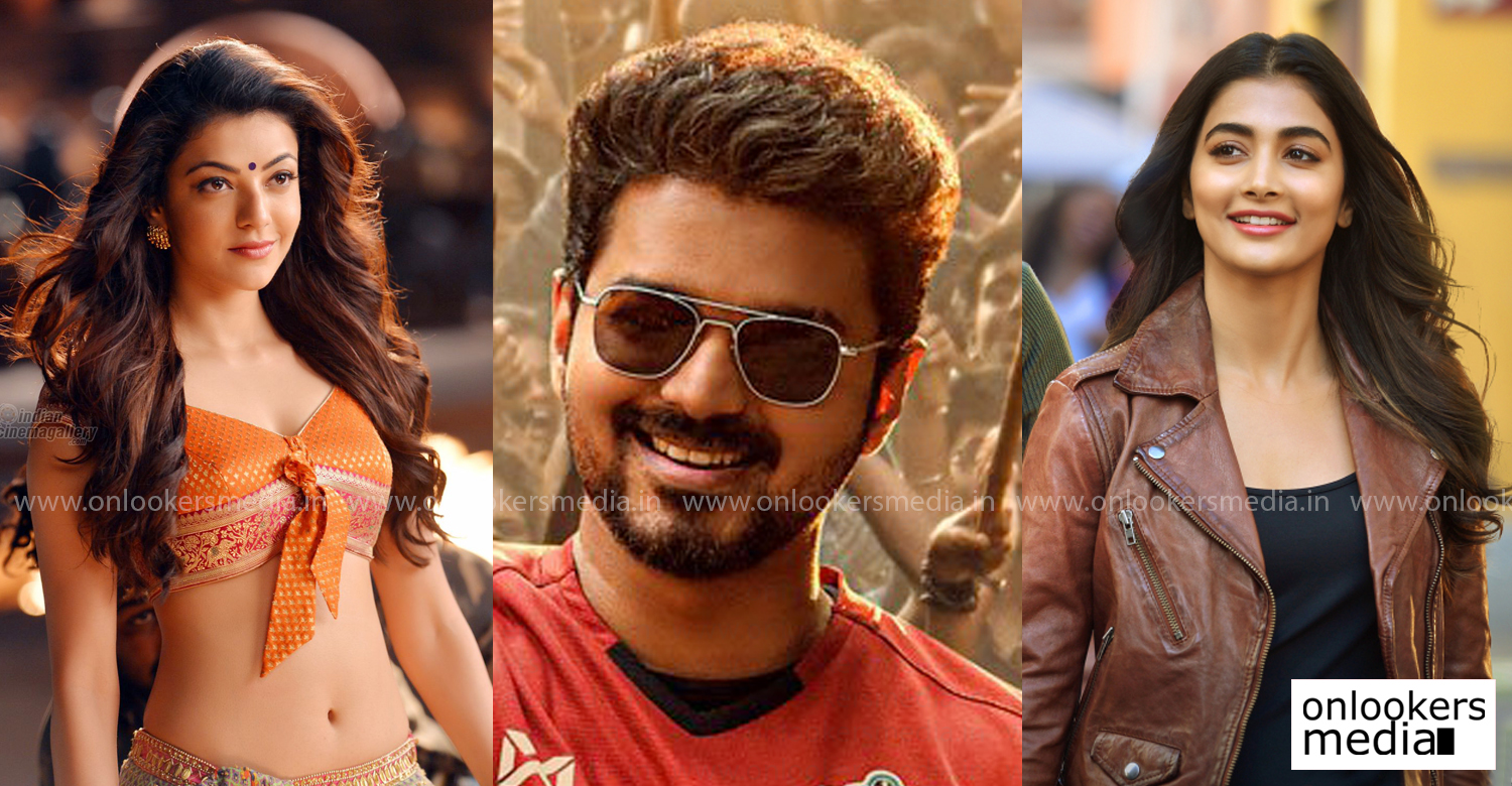 Thalapathy 65,Thalapathy 65 updates,thalapathy vijay,actor vijay,thalapathy vijay film news,thalapathy vijay upcoming film,Thalapathy 65 female leads,Thalapathy 65 heroine,kajal aggarwal,kajal aagarwal upcoming film,kajal aggarwal film news,kajal aggarwal in Thalapathy 65,kajal aggarwal vijay new film,pooja hegde,actress pooja hegde latest news,actress pooja hedge new film,kollywood film news,tamil cinema news,latest tamil film news