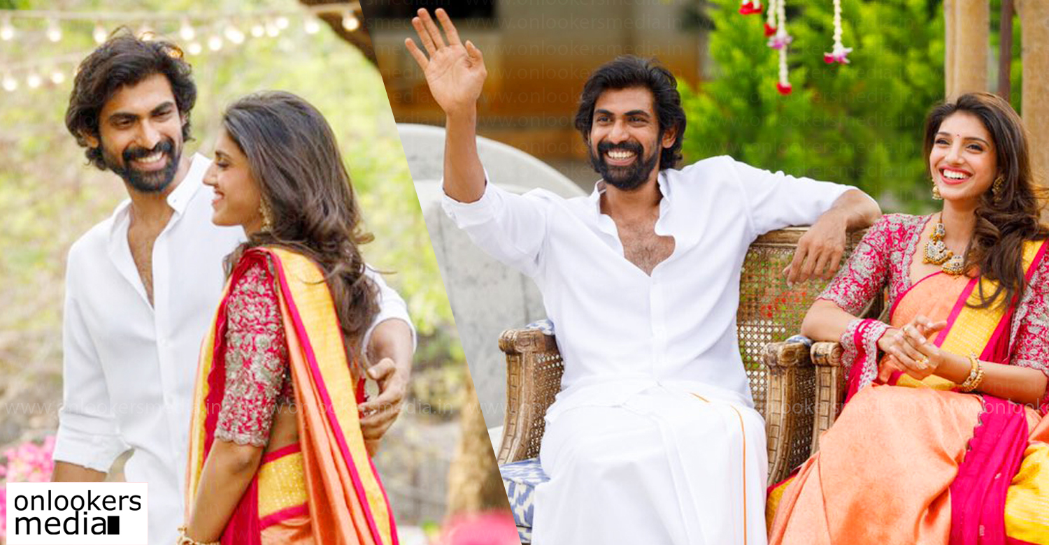 Rana Daggubati,Miheeka Bajaj,Rana Daggubati engagement photos,Rana Daggubati engagement stills,Rana Daggubati engagement,Rana Daggubati latest news,Rana Daggubati wife,latest telugu news,tollywood film news,Rana Daggubati news,Telugu film star Rana Dagguabti