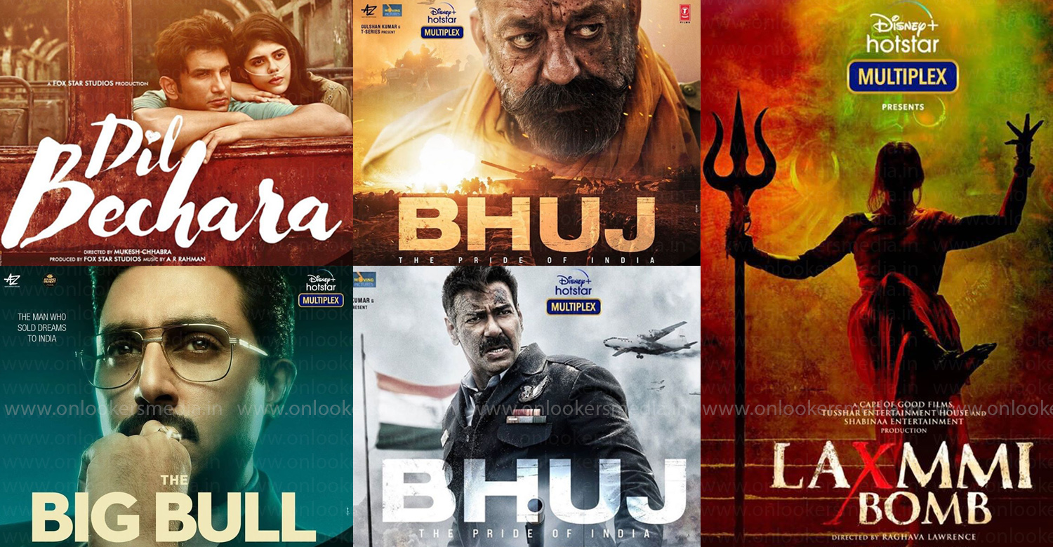 7 New Bollywood Films To Be Released Directly In Hotstar