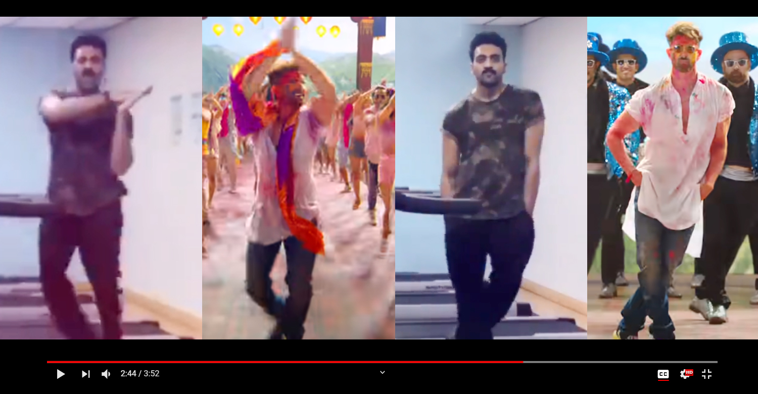 Actor Ashwin Kumar's treadmill dance,Actor Ashwin Kumar,Actor Ashwin Kumar dance,Actor Ashwin Kumar latest dance video,Actor Ashwin Kumar news,Jai Jain Shiv Shankar song,Jai Jain Shiv Shankar Actor Ashwin Kumar's treadmill dance,war movie Jai Jain Shiv Shankar Actor Ashwin Kumar's treadmill dance,war movie song